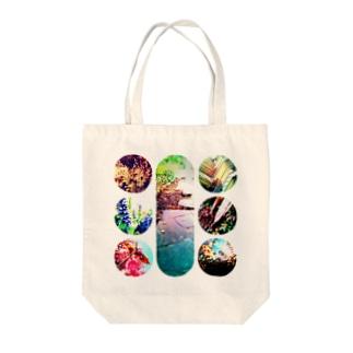 【2】コラージュ トートバック Tote bags