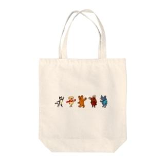 ローシュと仲間たち1 Tote bags