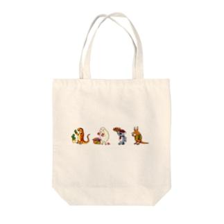ローシュと仲間たち2 Tote bags
