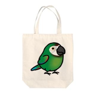 Chubby Bird コンゴウインコ トートバッグ