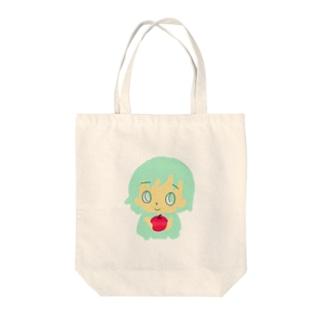 りんごの子 Tote bags