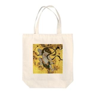 俵屋宗達『風神雷神』の雷神 Tote bags