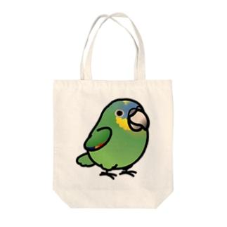 Chubby Bird ボウシインコ トートバッグ