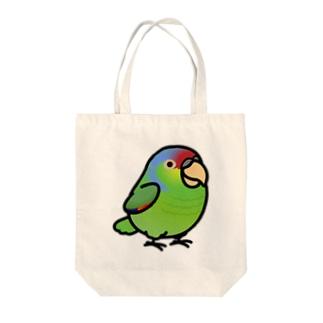 Chubby Bird  フジイロボウシインコ Tote bags