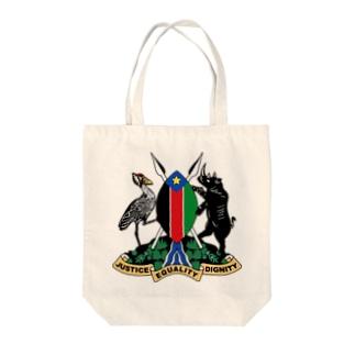 南スーダンの紀章 トートバッグ