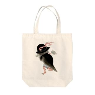 百鬼夜行絵巻 釜の付喪神(鳴釜)【絵巻物・妖怪・かわいい】 Tote bags