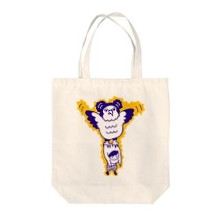カンムリクマタカ Tote bags