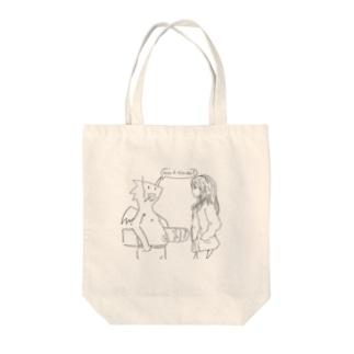 Dragon&JK Tote bags