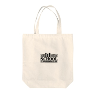Horror Holic School LOGO GOODS Tote bags