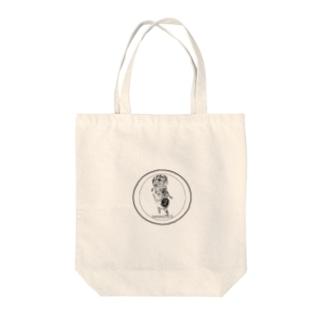 みじじびと Tote bags