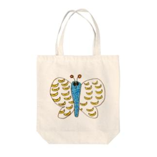 蝶々ばなな Tote bags