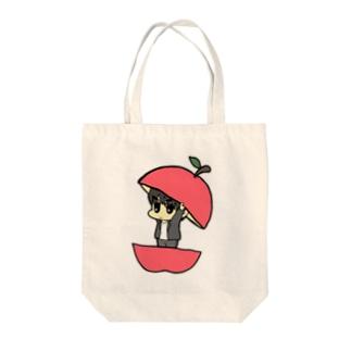 りんごのなかに‥ Tote bags
