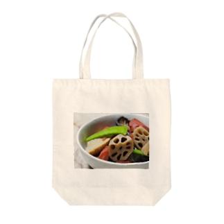 お母さんの煮物 Tote bags