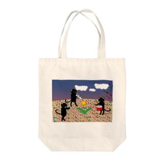 虹色の砂 Tote bags