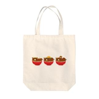 さあ、お食べなさい(`;ω;´) Tote bags