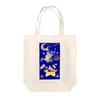 ぴぽぴぽ Tote bags