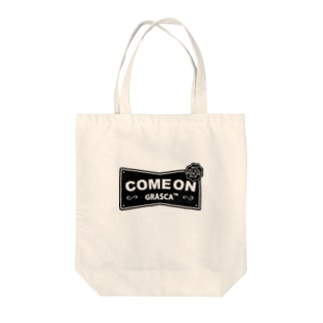 COME ON Tote bags