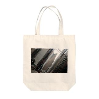 Hong Kong Street Snaps Tote bags