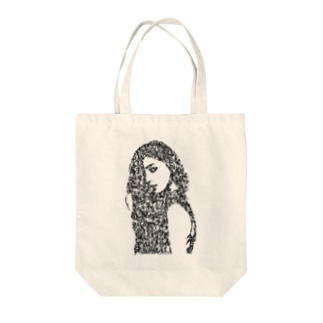 woman's face#1 Tote bags