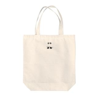 くろいうさちゃん Tote bags