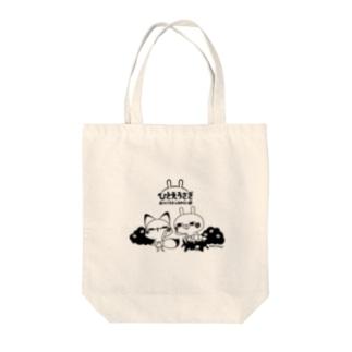 ひとえうさぎ Tote bags