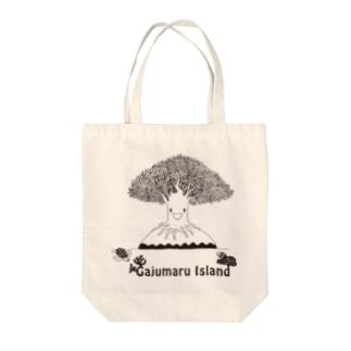 Gajumaru Island Tote bags
