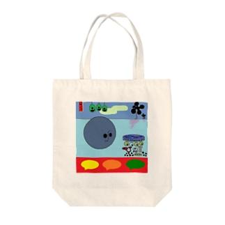 アロハチャイナ財宝マン Tote bags
