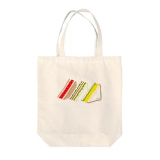 三角サンド3つ Tote bags