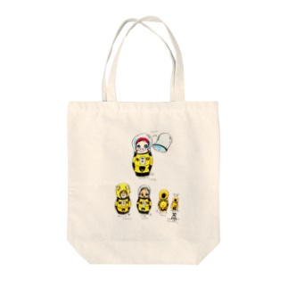 ヤノベケンジ《サン・チャイルド》(マトリョーシカシリーズ)  Tote bags