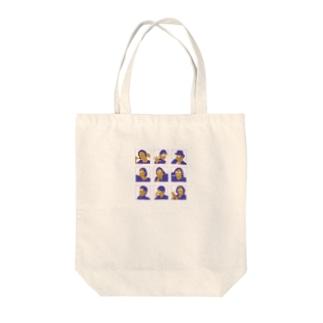 まり探 Tote bags