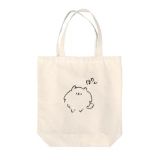 ぽん Tote bags