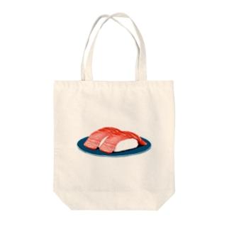 寿司 中トロ Tote bags