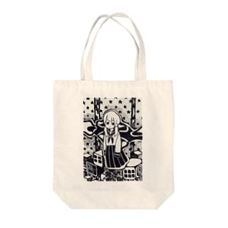 ゆらり Tote bags