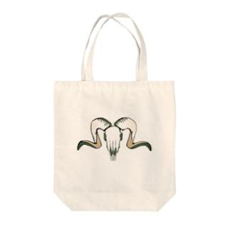 甘辛羊 Tote bags