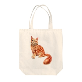 オレンジねこ 〜メインクーン〜 Tote bags