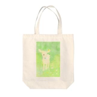 こじか Tote bags