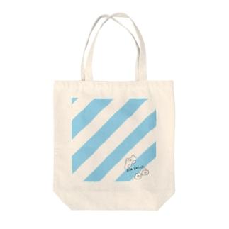 冬眠してるなうベアッシュ Tote bags