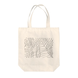 WIRE NET WORK by nisai® Tote bags