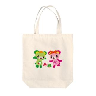 大崎一番太郎&ノン子 Tote bags