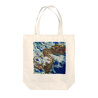 波動上昇シリーズ Tote bags