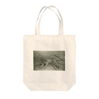 くつろぎねこ Tote bags