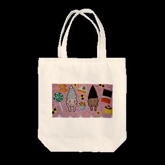 魔女会議のソフトクリームガール Tote bags