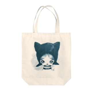 cat boy トートバッグ