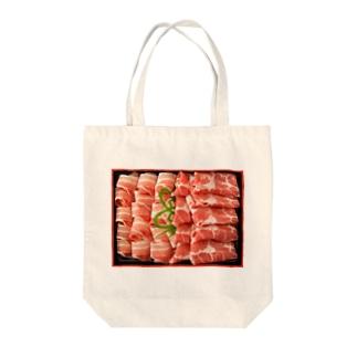 鹿児島うんまか豚(とん)シリーズ Tote bags
