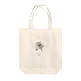 花飾りのキリングッズ トートバッグ