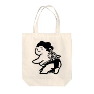 ぷりけつ雲竜型 Tote bags