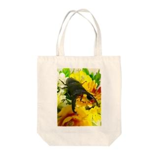クワガタ ☆パラワンオオヒラタクワガタ☆ Tote bags