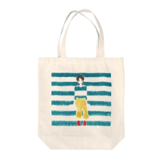 ohanのBorder Girl Tote bags