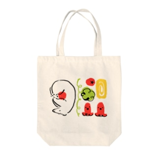 pukupekoのお弁当ですやすや Tote bags