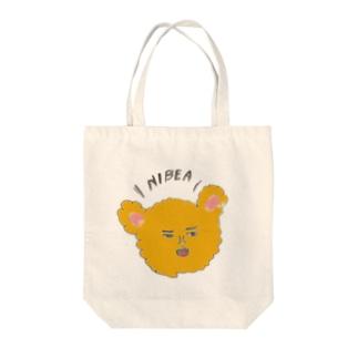 ニベちゃん Tote bags
